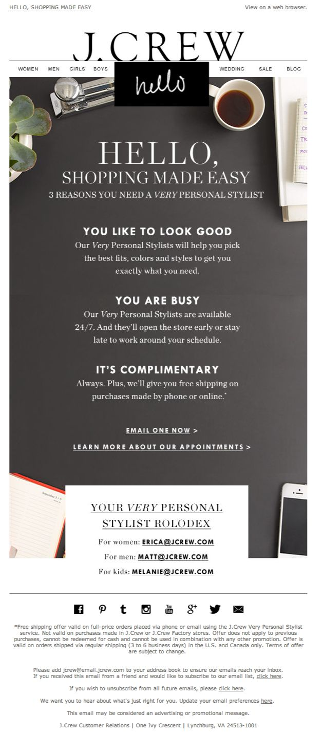 85 best E M A I L images on Pinterest | Email newsletter design ...