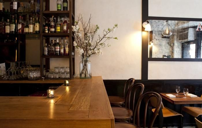 Urban Rusticity in NYC: August Restaurant - Remodelista