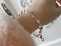 Mystic Rosenquarz Akoya Perlen Armband Quarz