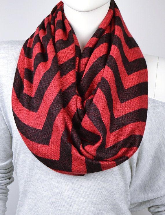 BUY 1 & GET 1 FREE   Chevron Scarf Infinity scarf by LIFEPARTNER, $19.40