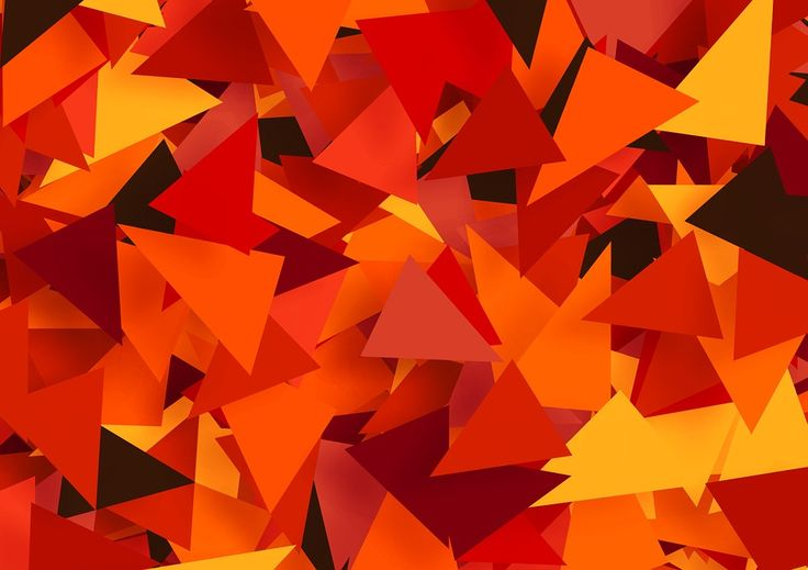 Tinker, Color, Share, Many, Colorful, Triangles, Green