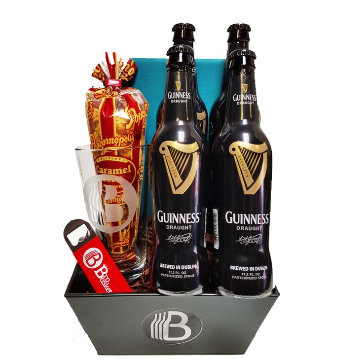 Everyone deserves a Guinness, so why not show some love to the Guinness lovers in your life with the awesome gift basket.