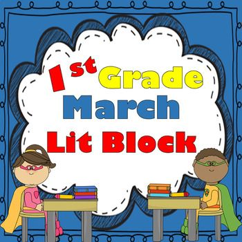 1st Grade MARCH Lesson Plans, Activities & Word Work!