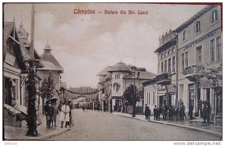 CAMPINA -  Str CAROL I - 1928