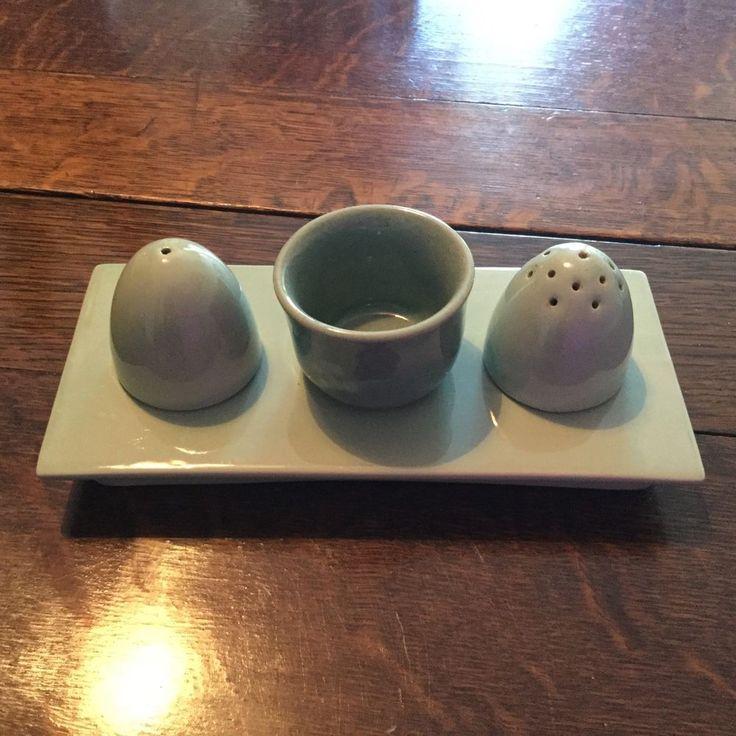 WOODS WARE BERYL CRUET SET in Pottery, Porcelain & Glass, Pottery, Woods Ware | eBay