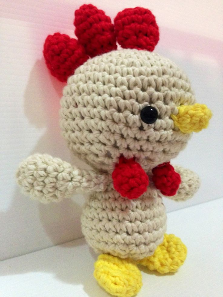 La Carmelita Amigurumi: Un gallo más gallito...
