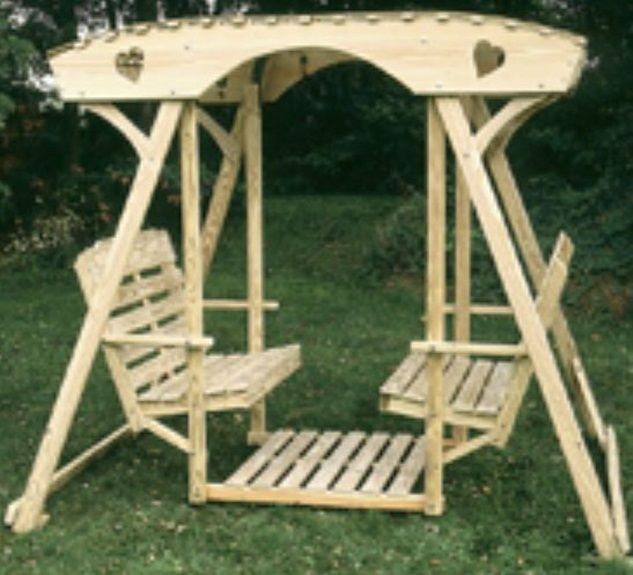 Just garden arbors furniture swinging bench free plans trunk