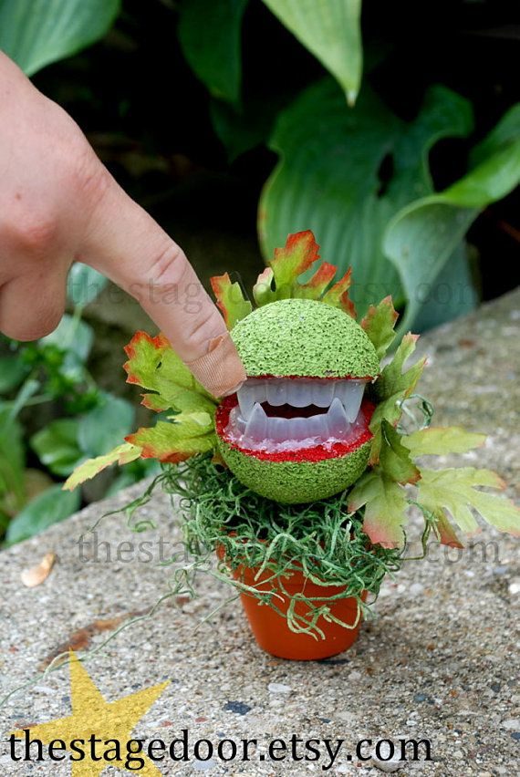 Halloween Decoration Prop Audrey 3 Little Shop of Horrors plant costume DIY on Etsy, $14.95