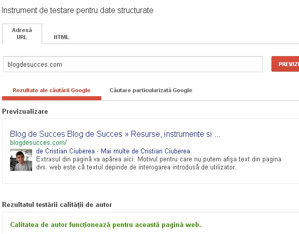 Google Authorship te ajuta sa obtii mai multe clickuri din motoarele de cautare, sa apari mai sus in cautari si sa castigi autoritate in domeniul tau.