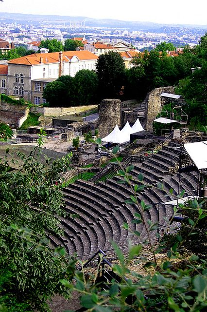 Bezoek de #Theatres #Romain #Lyon