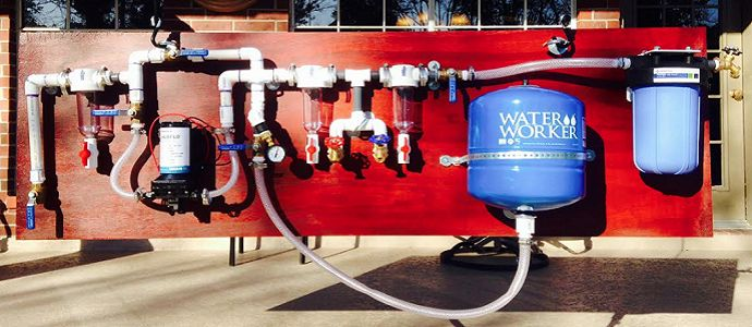 WATER TREATMENT FOR OFF-THE-GRID RAINWATER HARVESTING SYSTEMS – WATER ORGANIZING MODULES (WOMS)