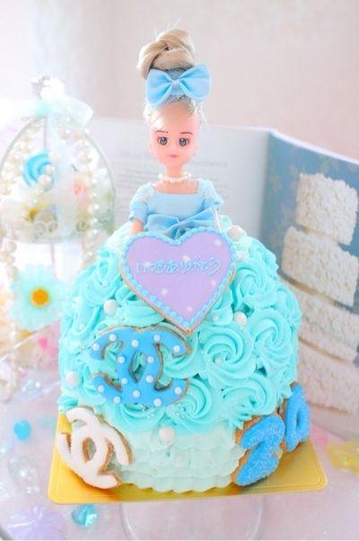 ドールケーキ 似顔絵ケーキ 仮面ライダードライブ トッキュージャー ジバニャン立体ケーキ