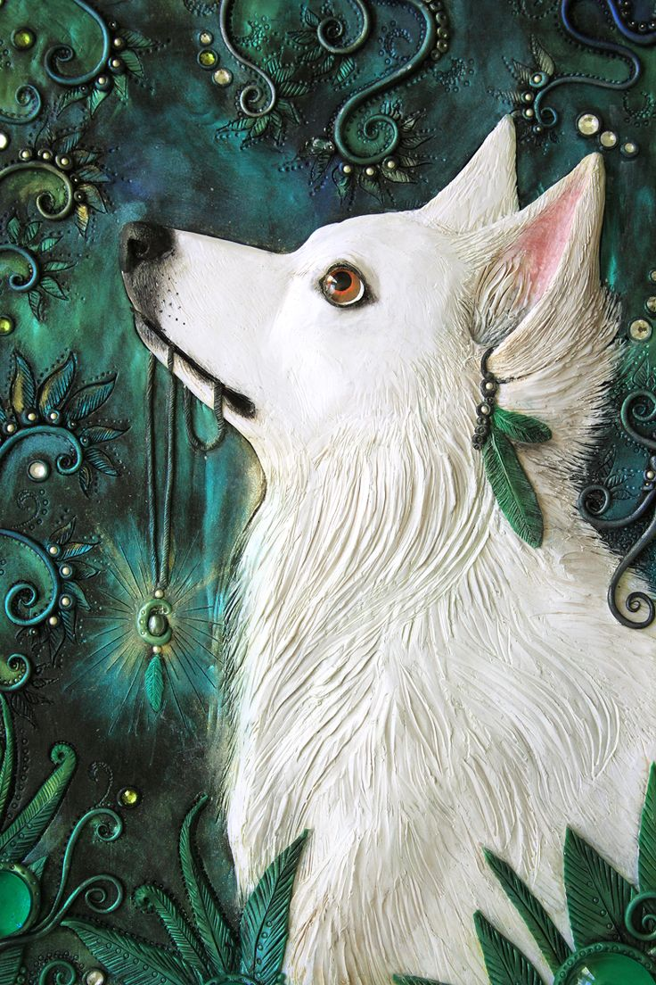 The White Shepherd - Journal by Mandarin Duck http://www.mandarin-duck.com/p/blog-page_18.html Polymer Clay