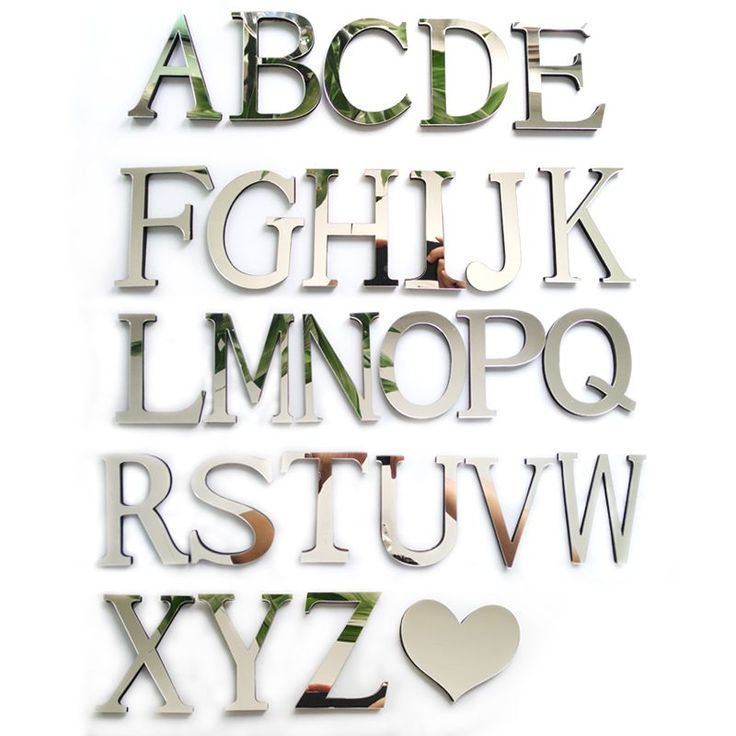 2016 New Acrylic Mirror 3D DIY wall stickers stickers English letters home decoration free shipping creative personality Special *** Check out this awesome product by clicking on the VISIT button