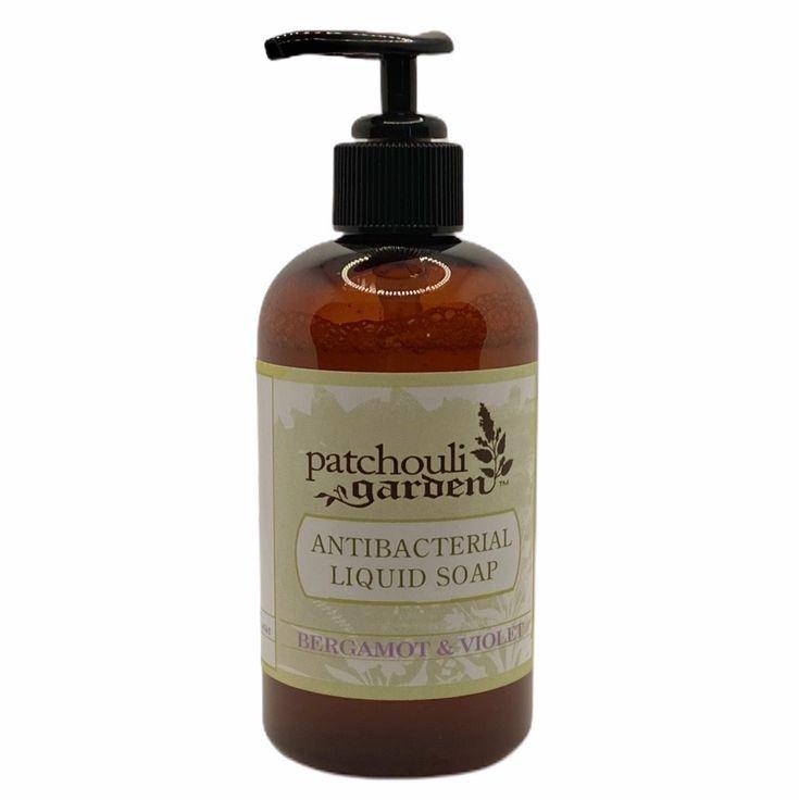 Antibacterial liquid hand soap bergamot in 2020 liquid