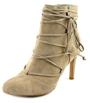 Vince Camuto Chenai Women Round Toe Leather Nude Ankle Boot.