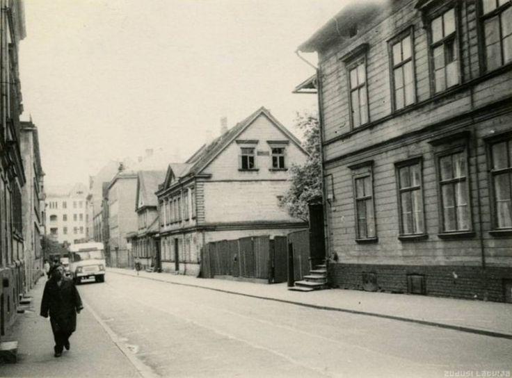1966. gads, Pērses iela