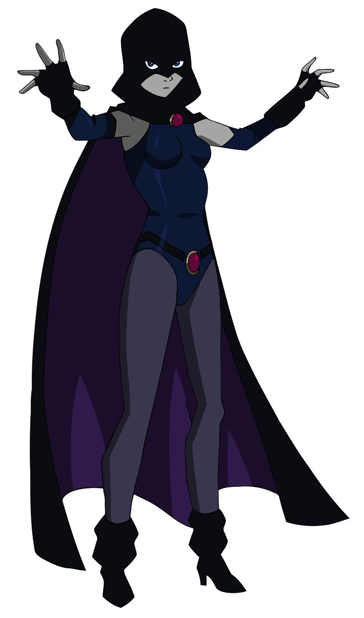Justice League Vs Teen Titans Raven By Glee-Chan On -1780