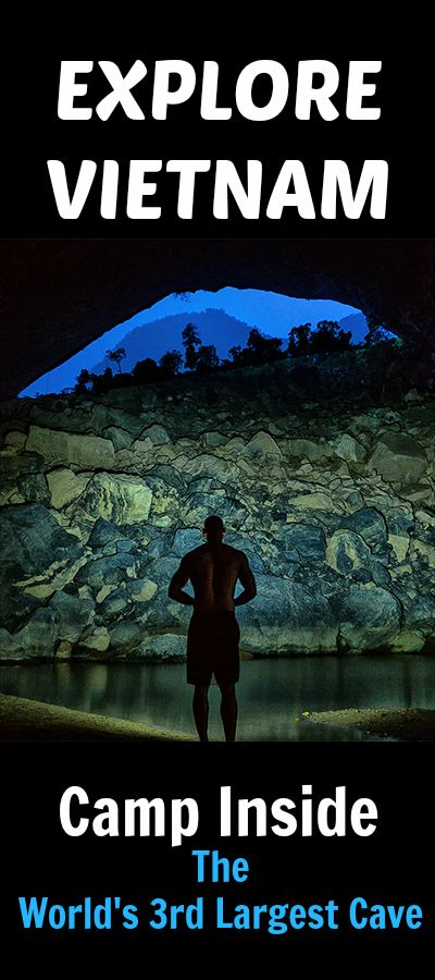 See what it's like to camp inside a cave with it's own beach and lagoon. So tall that it can hold an entire block of NYC skyscrapers. Hang En Cave in Vietnam's Phong Nha-ke Bang National Park is quickly becoming one of the must-see natural wonders of the world.