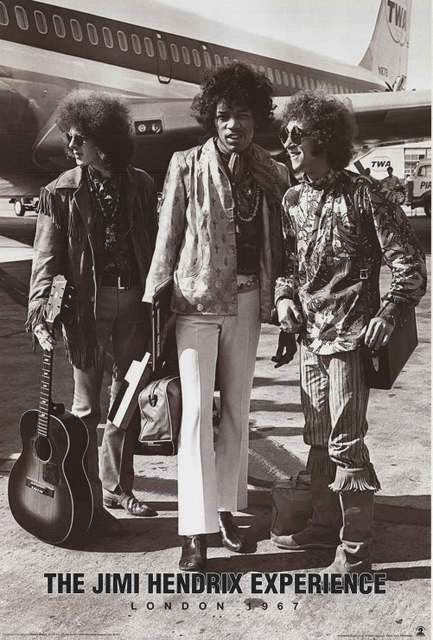 "An awesome poster of Jimi Hendrix, Noel Redding, and Mitch Mitchell - The Jimi Hendrix Experience - in London in 1967! Fully licensed. Ships fast. 24x36 inches. ""Experience"" the rest of our great sele"