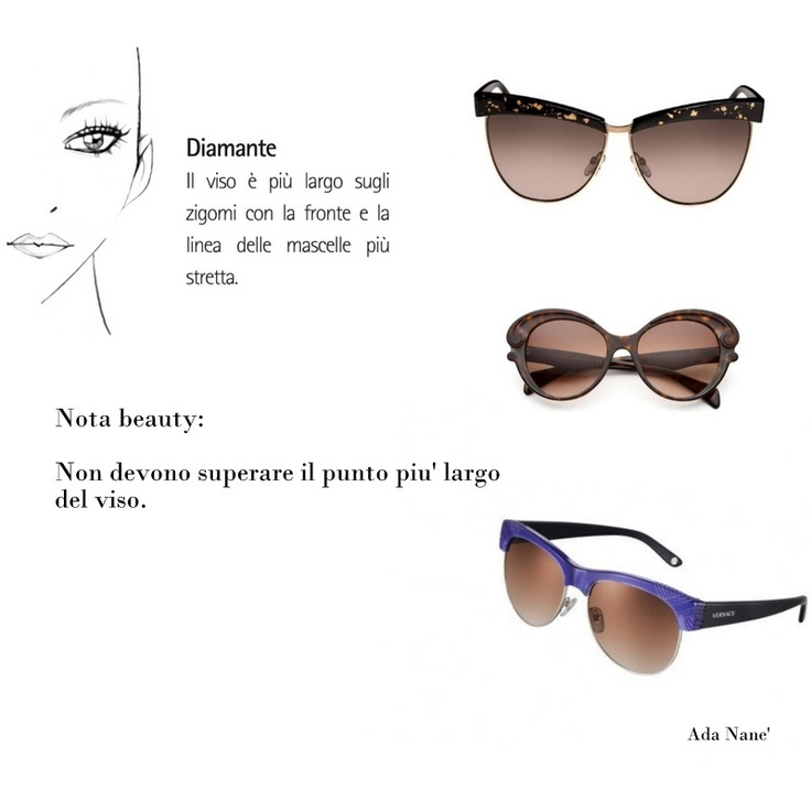 Rimless Glasses Shapes : 110 best images about Face Shape Diamond on Pinterest