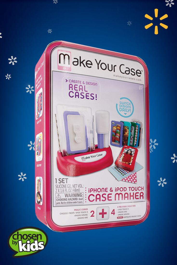 Make Your Case Case Maker | Walmart—Customized cell phone cases are easy to make with this unique kit. See the full list of kids' favorite toys and gifts.