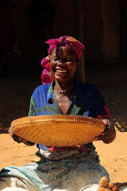 sifting millet, Mozambique.  Photo: luca.gargano, via Flickr