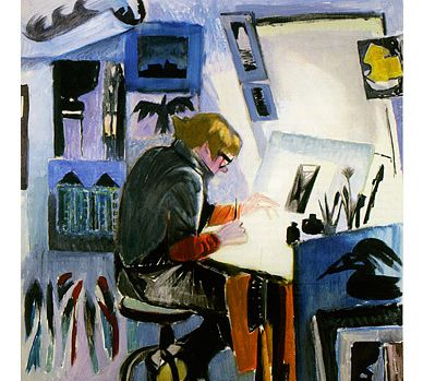 Tove Jansson: Tuulikki Pietilä at work 1975