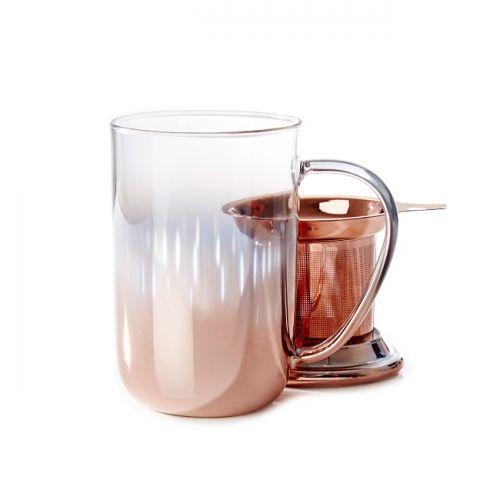 David's Tea   Rose Gold Gradient Nordic Mug