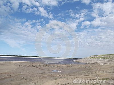 Vilyui River  Photographed in Yakutia-Vilyuysk district