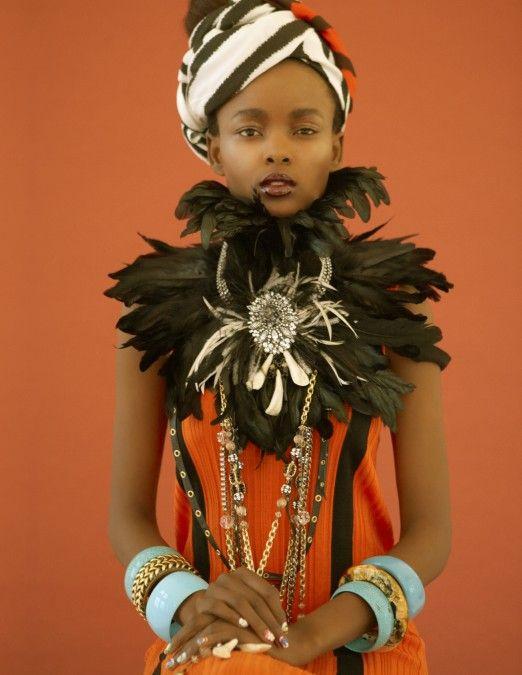 tribal lady | laha magazine fashion editorial | history of ...