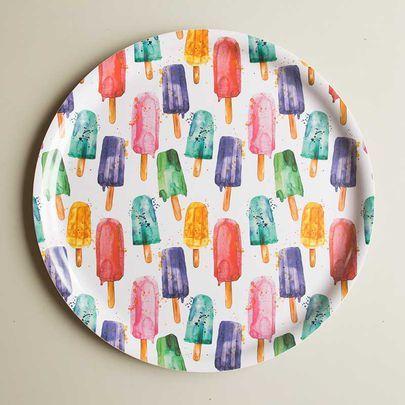 Mehujäätaikaa-tarjotin / Popsicles tray 35 cm / Käpynen