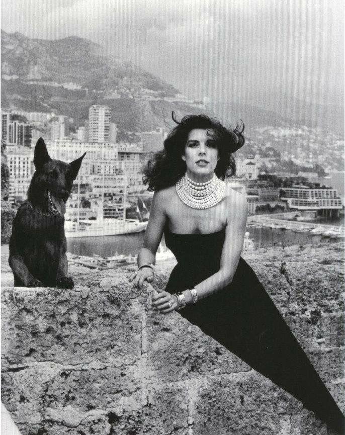 Carolina di Monaco By Helmut Newton 1980 ca