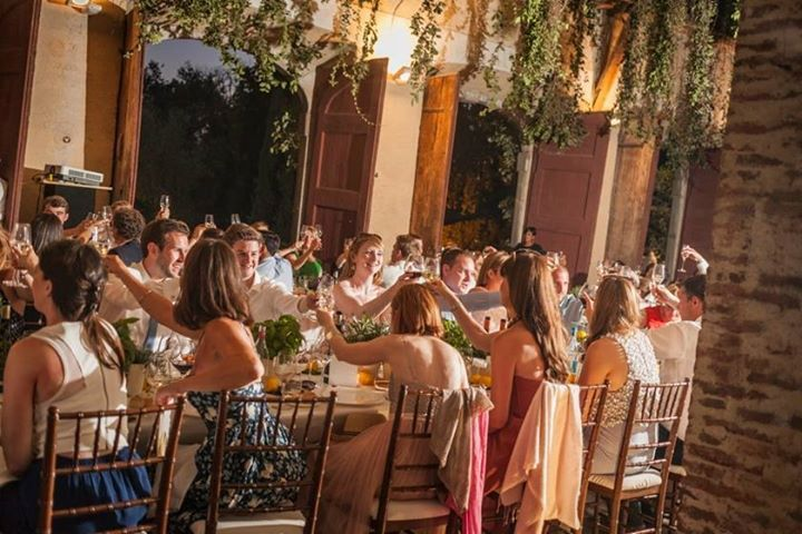 Dinner party in the lemonhouse