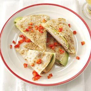 Turkey & Swiss Quesadillas from Karen O'Shea, Sparks, Nevada - Health...