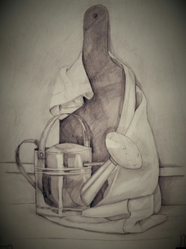 #3D #6 hours #drawing #pencil #objects  #synthesis