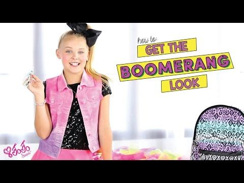 Get the JoJo Siwa Boomerang Look | Claire's Accessories - YouTube