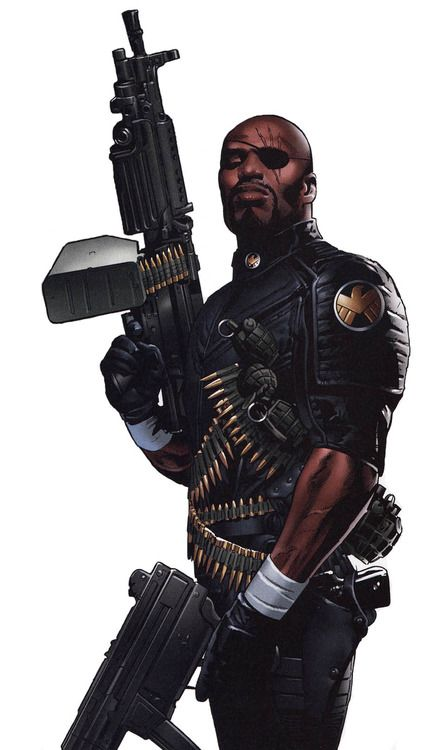 Greg Land - Ultimate Nick Fury