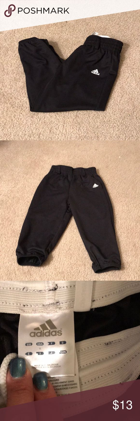 Adidas baseball Pants Cute adidas baseball pants , size small for little kids. Like new, perfect condition. Feel free to make me an offer 😊 adidas Bottoms Sweatpants & Joggers
