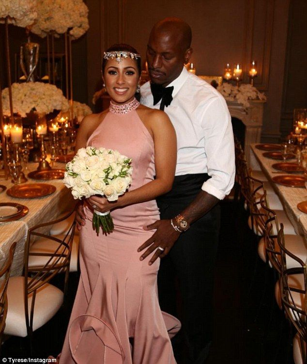Newlyweds! Tyrese Gibson's wife has been identified as Samantha Lee, according to TMZ and ...