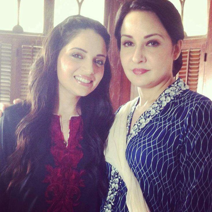 Pakistani celebs, ArMeeNa RaNa KhAn & Zeba Bakhtiar