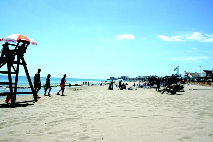 Playa de La Mata en Torrevieja