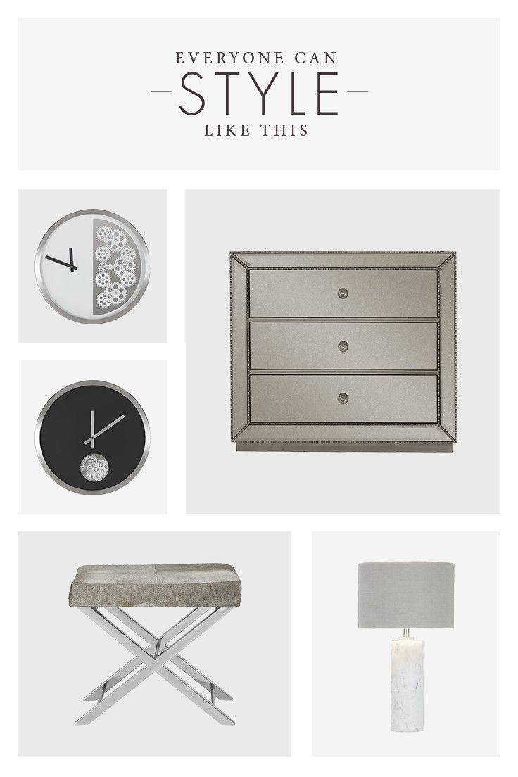The fall season is here and that means it's time to change things up! A trendy clock, sleek chair, or a stylish lamp might be just what you're looking for.