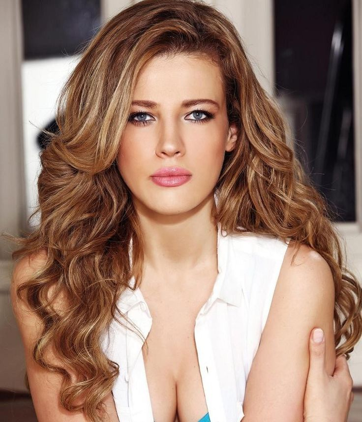 43 best wavy hair images on pinterest brown hair and blonde highlights is the best hairstyle to lighten up your look easily the blonde highlights can give a summertime glow for your brown hair pmusecretfo Image collections