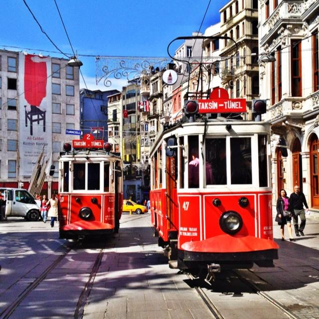 #istanbul #tramvay #taksim