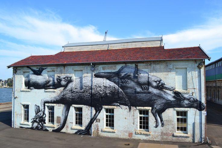 ROA e il sacrificio degli animali alla Dorothy Circus Gallery