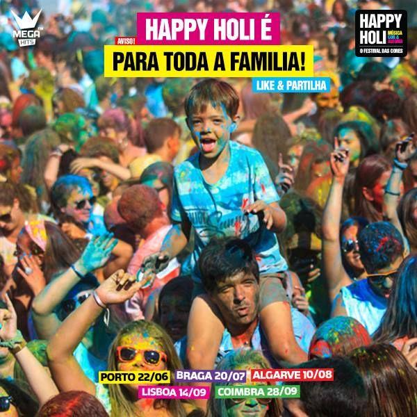 Dia Internacional da #familia  happyholi.last2ticket.com