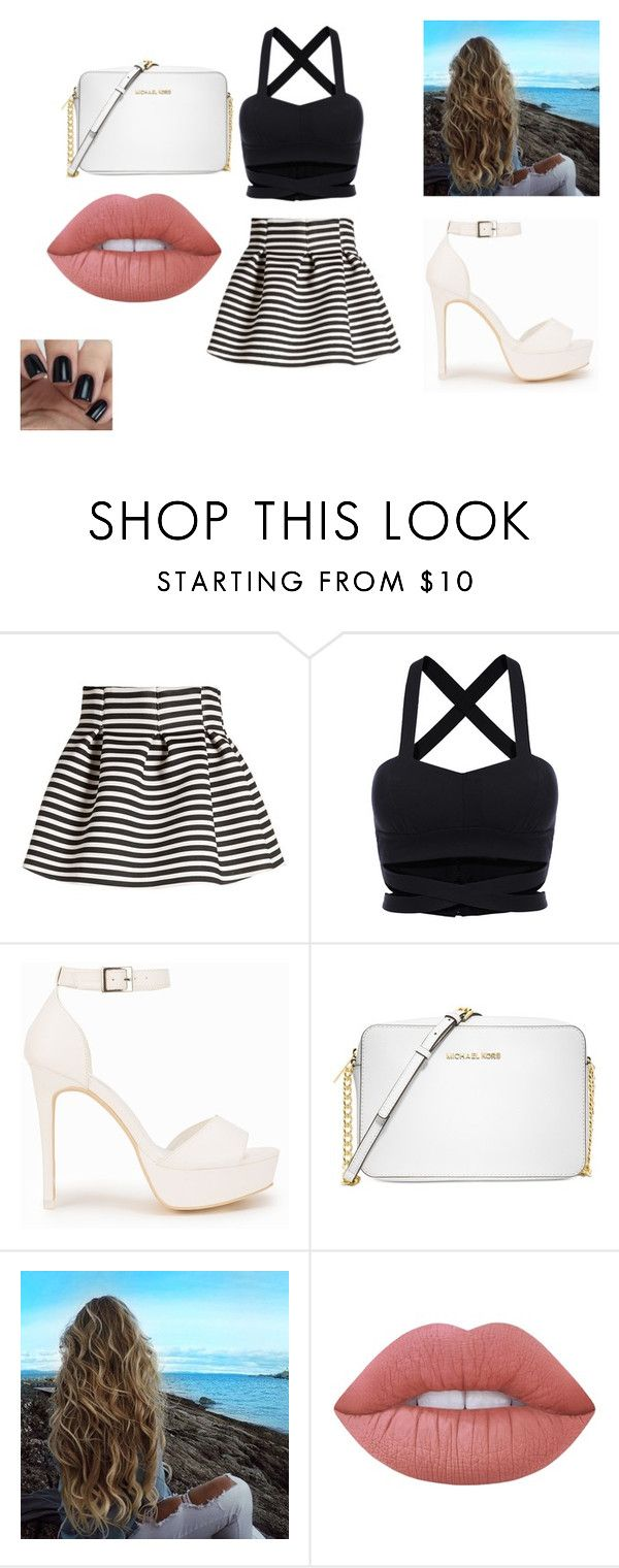 """Untitled #20"" by sterian-ioana on Polyvore featuring Molo, Nly Shoes, Michael Kors and Lime Crime"