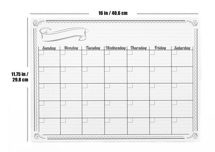 Dry Erase Calendar Canada : Best dry erase calendars images on pinterest calendar