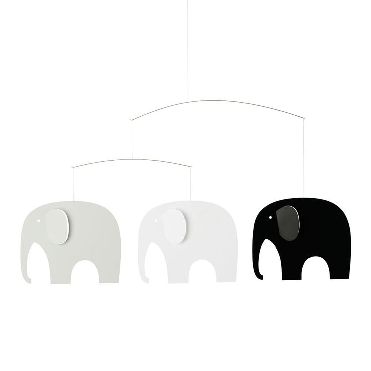 Elephant Party Mobile Flensted Baby- A large selection of Design on Smallable, the Family Concept Store - More than 600 brands.